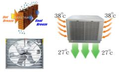 Air cooers - Cooling fan - Cooling pad - Exhaust fan - SAFE WAY